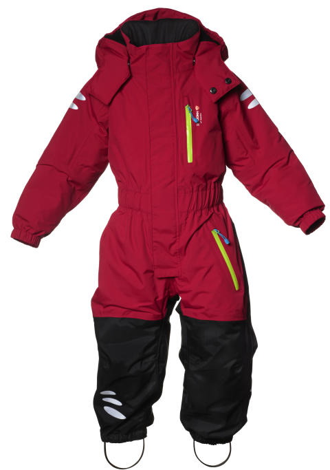 ISBJÖRN PENGUIN Winter Jumpsuit - FierceRed