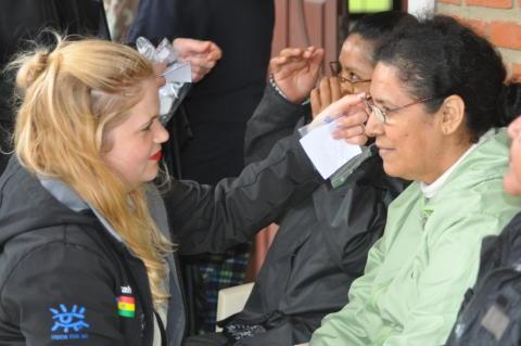 Deborah Osis Conta i Bolivia