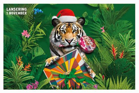 En vildare jul med julgåvor från The Body Shop