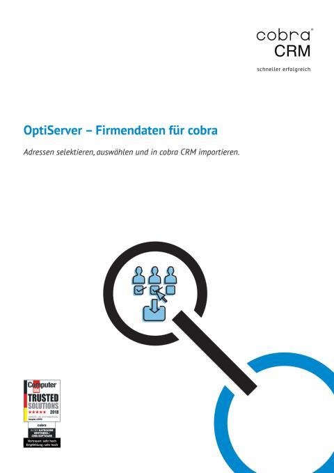 OptiServer - Firmendaten für cobra