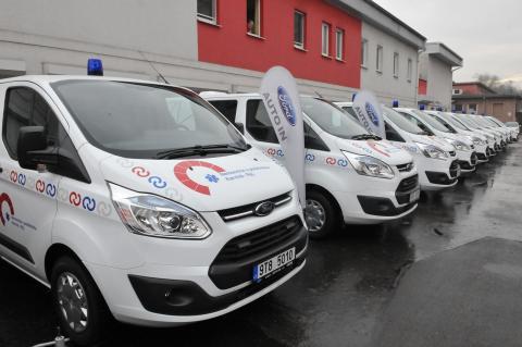Český Ford se prosazuje jako dodavatel sanitek