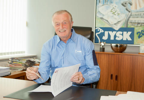 Lars Larsen, fondatorul JYSK, a murit la 71 de ani