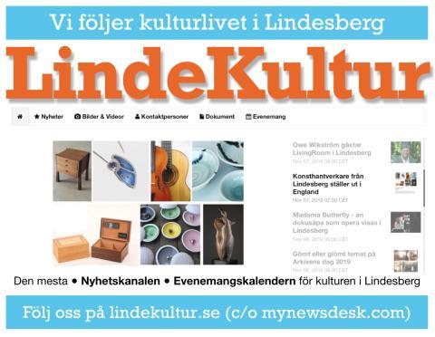 Veckans nyhetsbrev från LindeKultur (vecka 45)