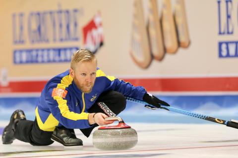 Curling-EM: Semifinalplatsen nära för lag Edin efter seger mot Ryssland