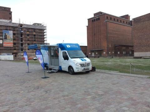 Beratungsmobil der Unabhängigen Patientenberatung kommt am 4. April nach Wismar.