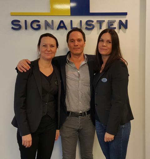 Signalisten ny företagskund till GI-boxen