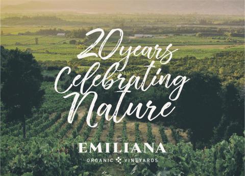 Emiliana firar 20 år av ekologisk vinodling