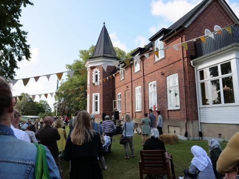 Nyrenoverade Botildenborg-  innovationscenter för hållbarhet