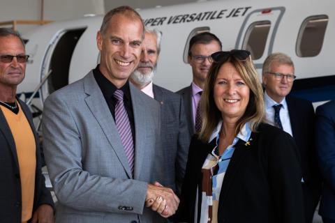 Svenskt Ambulansflyg har upphandlat flygplan