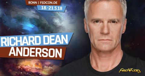 Stargate-Star Richard Dean Anderson kommt zur FedCon 27 nach Bonn!