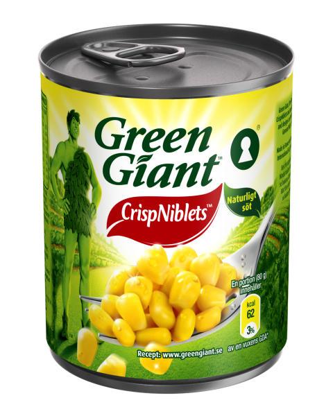 Green Giant™ får nyckelhålsmärkning