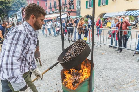 Tessin: Das Kastanienfest in Ascona