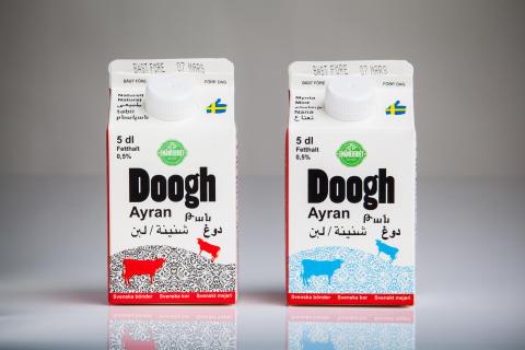 Doogh drickyoghurt från Emåmejeriet