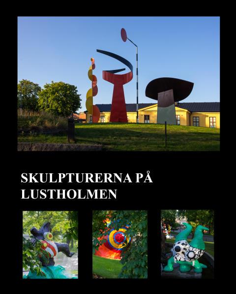 Omslag: Skulpturerna på Lustholmen