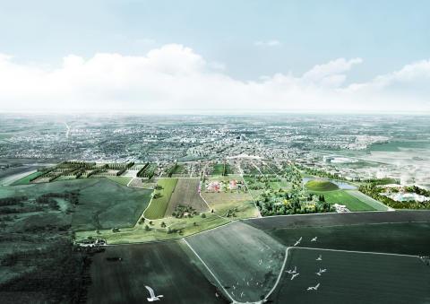 Nu börjar anläggandet av Lunds nya stora park
