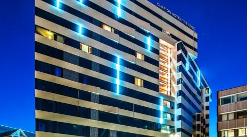Clarion Hotel The Edge och Clarion Collection Hotel Hammer vinner prisen for «best hotel».