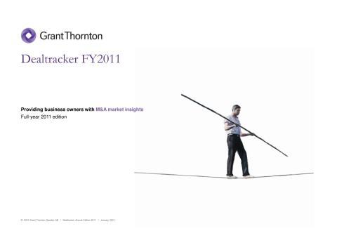 Fall för företagsaffärer andra halvåret 2011