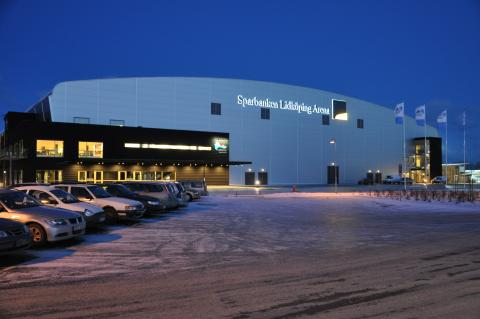 Avgörande EM-kval match i handboll till Sparbanken Lidköping Arena