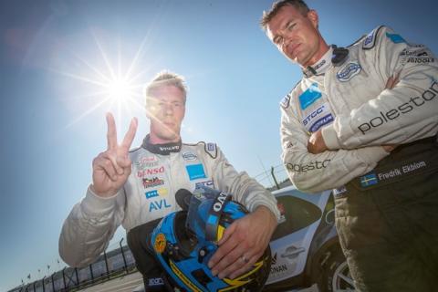 Polestar Cyan Racing fastställer föraruppställning till WTCC 2016