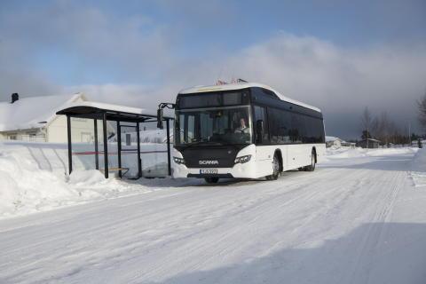 Batterieelektrischer Scania Citywide LF
