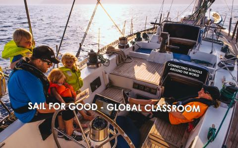 Sail for Good - Global Classroom May 20th 2016 in Helsinki