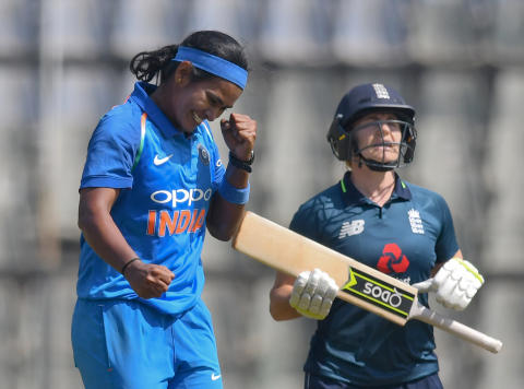 India Clinch ODI Series In Mumbai