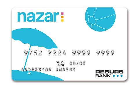 Researrangören Nazar väljer Resurs Bank för delbetalning på nätet