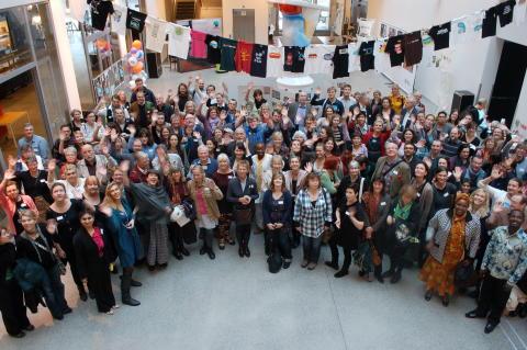 Deltagare vid internationell Fairtrade City-konferesn i Malmö