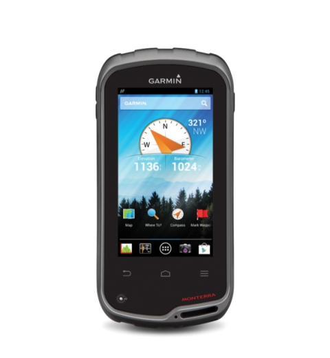Garmin presenterar Monterra - en outdoor GPS med WiFi och Android