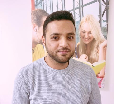 Sfi har underlättat för Usman att komma in i det svenska samhället