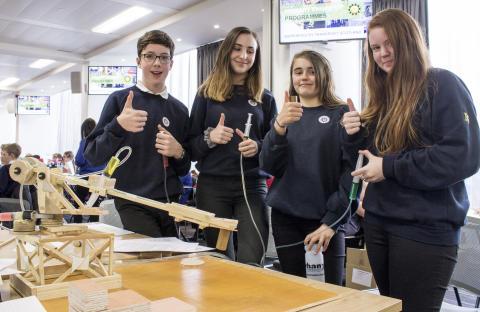 Pupils engineer success at celebration event