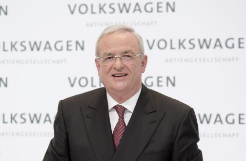 Martin Winterkorn, koncernchef Volkswagen AG