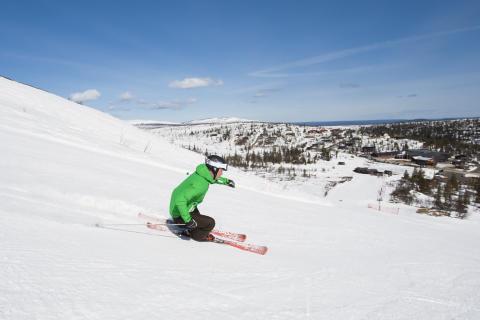 Storhogna Högfjällshotell & Spa skidåkning