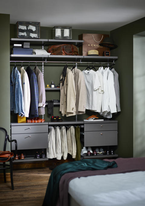 Låt drömmen bli sann - en ny ordning i garderoben