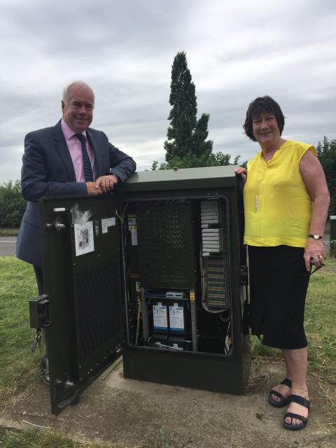 MP praises progress of Digital Derbyshire as fibre rollout passes 90k premises