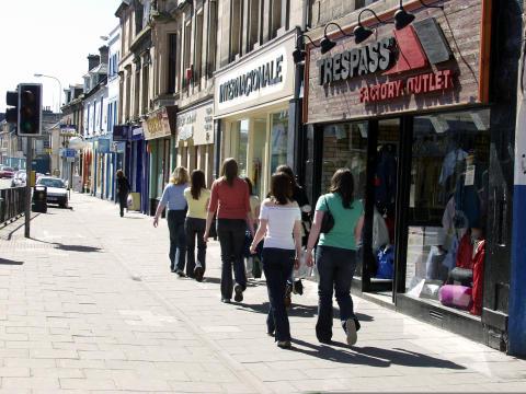 Moray Elgin Shopping
