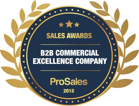 Emblem - B2B Commercial Excellence  Company 2018