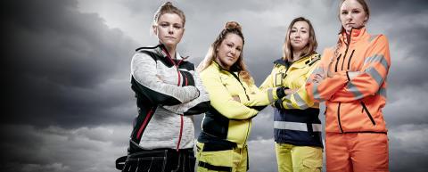 Naiset ottavat Blåkläderin haltuun – uusi ja laajempi naisten vaatemallisto tulee antamaan samat edellytykset