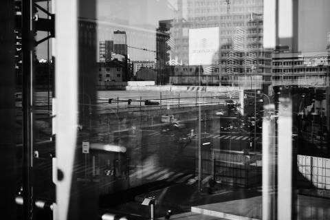 Metropolitan Solitude by Amedeo Novelli