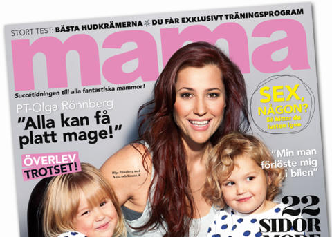 Olga Rönnberg ny fast profil i mama