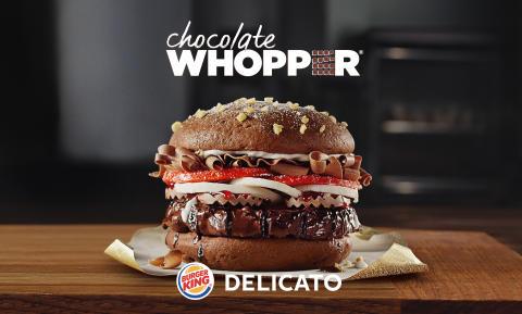 BURGER KING och DELICATO lanserar Choklad WHOPPER
