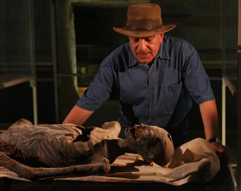 Dr Zahi Hawass, arkeolog och egyptolog