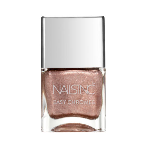Nails Inc. Easy Chromes Hell For Metal - Rose Gold