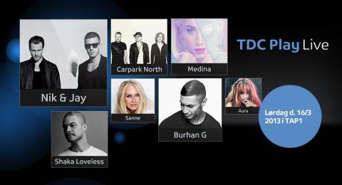 TDC giver en koncert til danskerne