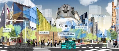 Fords vision om intelligente byer til CES 2018