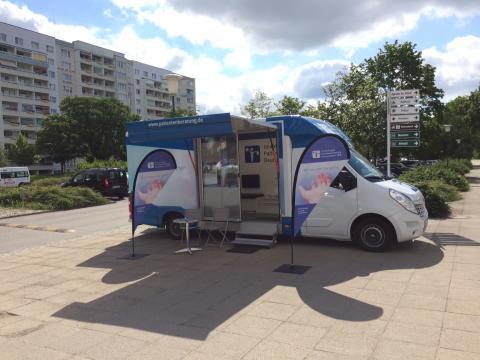 Beratungsmobil der Unabhängigen Patientenberatung kommt am 31. Januar nach Schwedt (Oder).