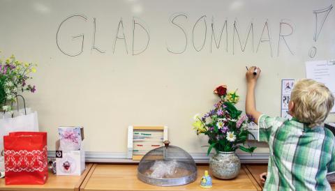 Skolavslutning i kyrkan stark tradition bland svenska folket