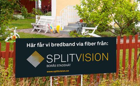 Empower bygger fiber för Splitvision i Borås