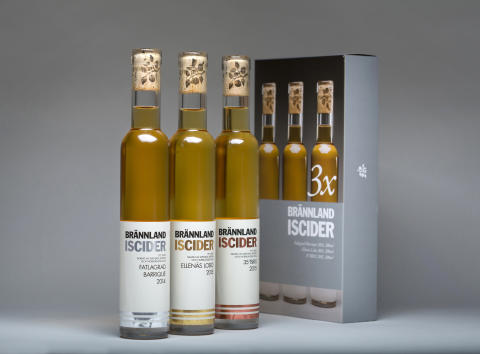 "Brännland Cider releases limited edition ice cider collection ""Brännland Iscider x 3"""