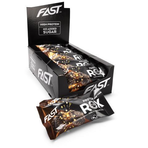 Proteinbars ROX Mörkchoklad Crisp 55gx15
